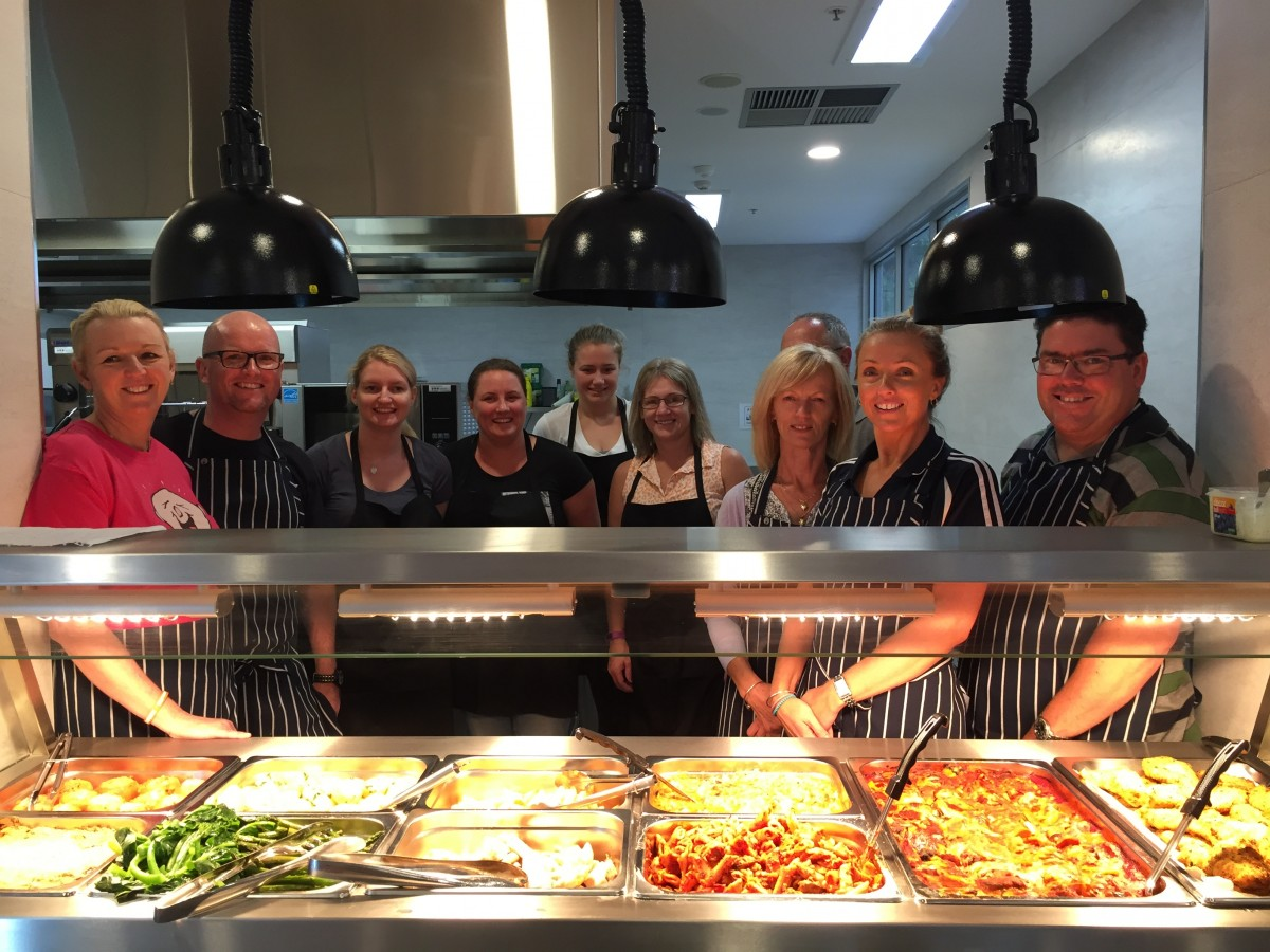 Attractive Austal Employees And Friends Help Out At Ronald McDonald House, Perth, 12th  December 2015.