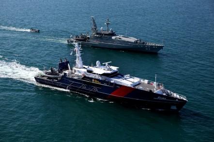 Cape St George and HMAS Armidale