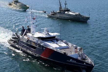 Cape Class Patrol Boat, Armidale Class Patrol Boat and Bay Class Patrol Boat